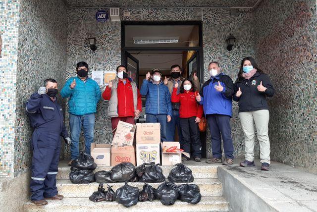 Hortaliceros de Feria Nueva Norte entregan 25 canastas de alimentos al Municipio de Lanco