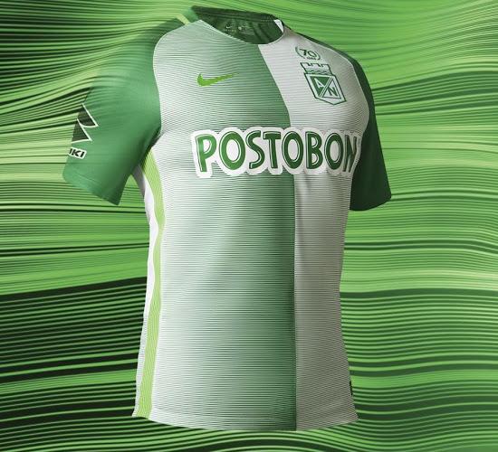 La Nike camiseta Atlético Nacional 2017  d8a936f02426c