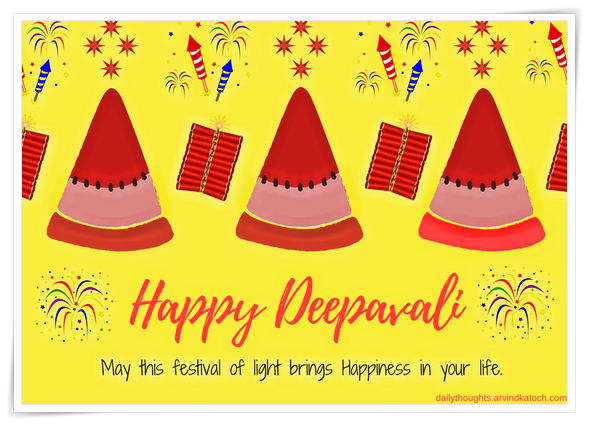 Happy Deepawali, Greeting Card, ,Festival, Light,
