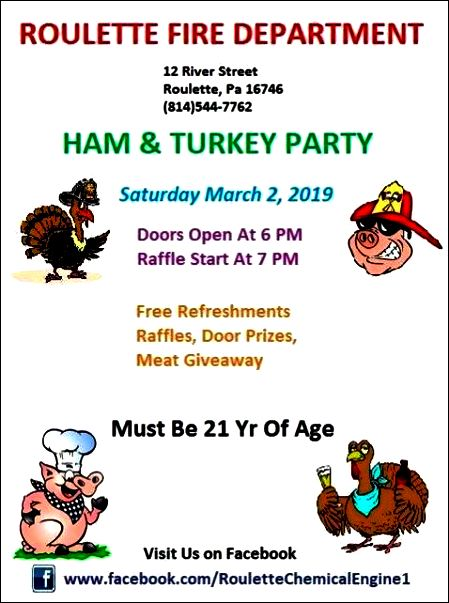 3-2 Ham & Turkey Party, Roulette VFD