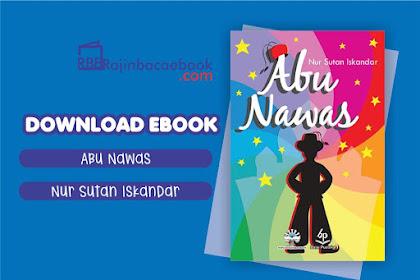 Download Novel Abu Nawas by Nur Sutan Iskandar Pdf