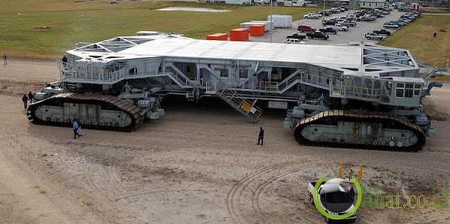Crawler-Transporter: Kendaraan Pengangkut Terbesar Kedua di Dunia