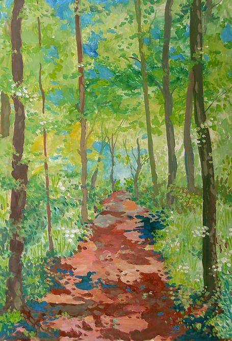 Mai im Wald