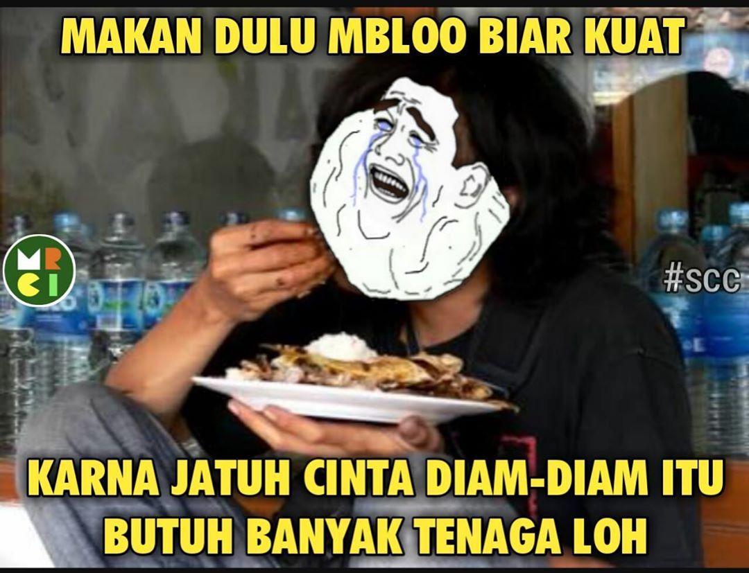 Kumpulan Gambar Meme Lucu Makan Siang