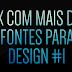 PACK COM MAIS DE 30 FONTES PARA DESIGN #1 [2016]