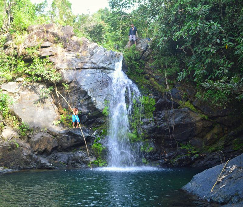 Zambales Falls Cliff Jumping