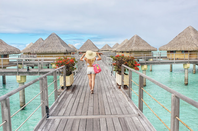 Exploring the Intercontinental Moana in Bora Bora.