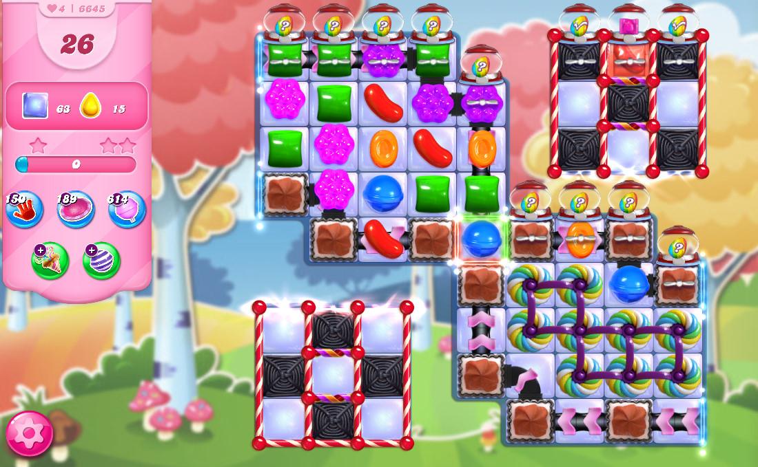 Candy Crush Saga level 6645