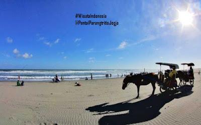 Pantai Parangtritis | Tempat Wisata Jogja Terbaru