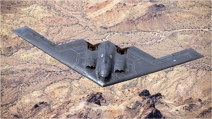 Самый дорогой самолет B-2 Spirit