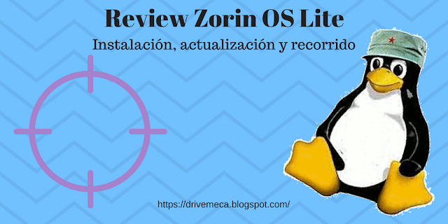 Review Zorin OS Lite