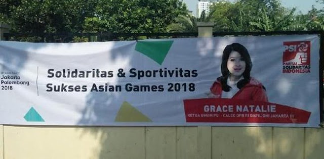 Spanduk Asian Games Berlogo Partai, Ketum PSI Diminta Mematuhi Panggilan Bawaslu