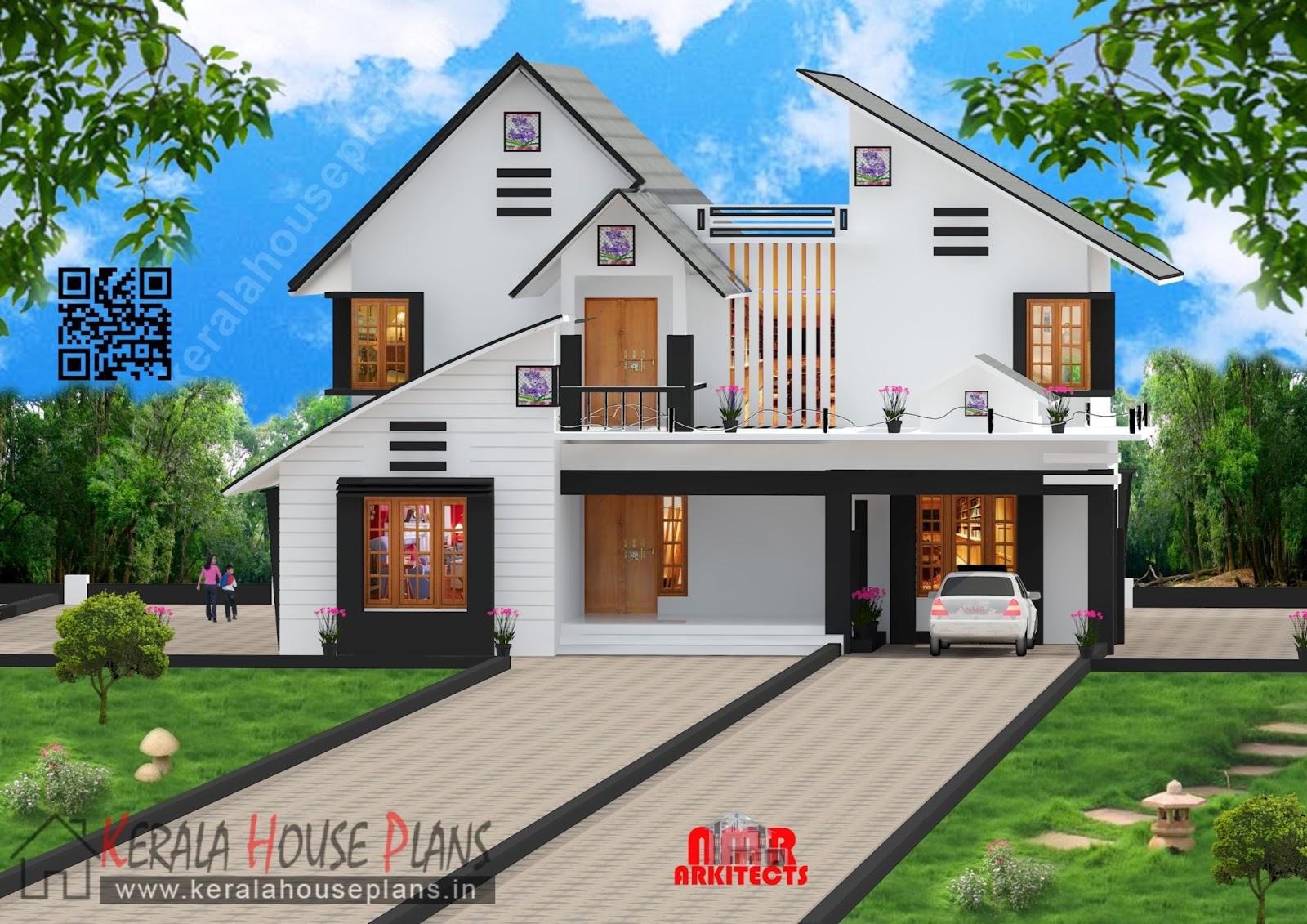 Modern Double floor villa style house