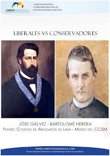 Pugna entre liberales y conservadores (1848)