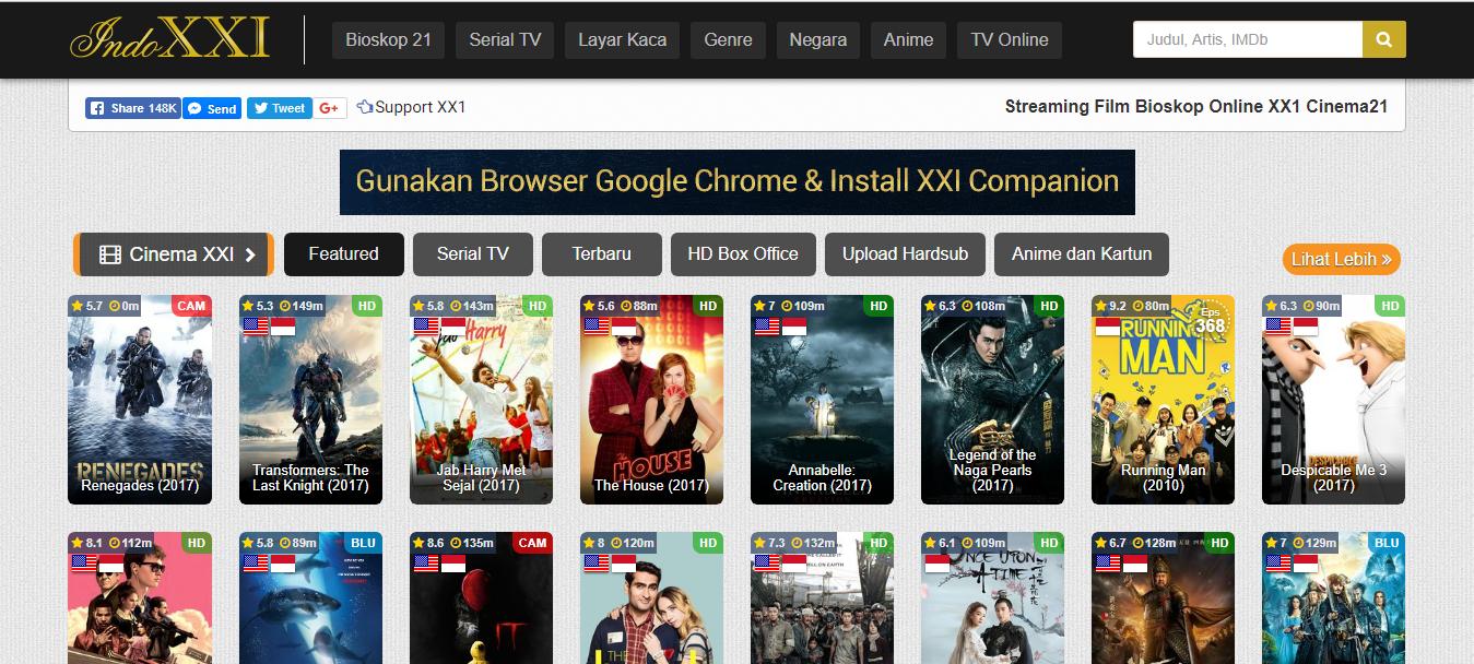 daftar lengkap situs download film indonesia gratis cari