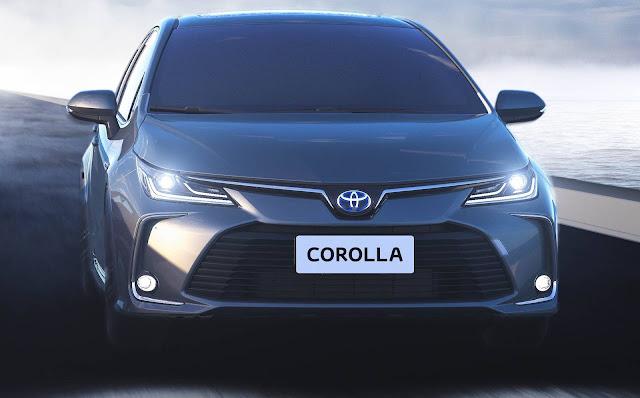 Novo Corolla 2020 - Brasil