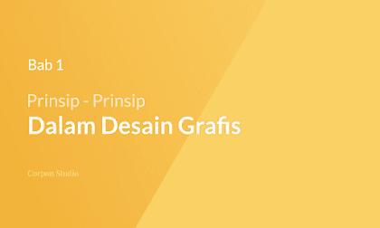 Prinsip-prinsip Desain Grafis