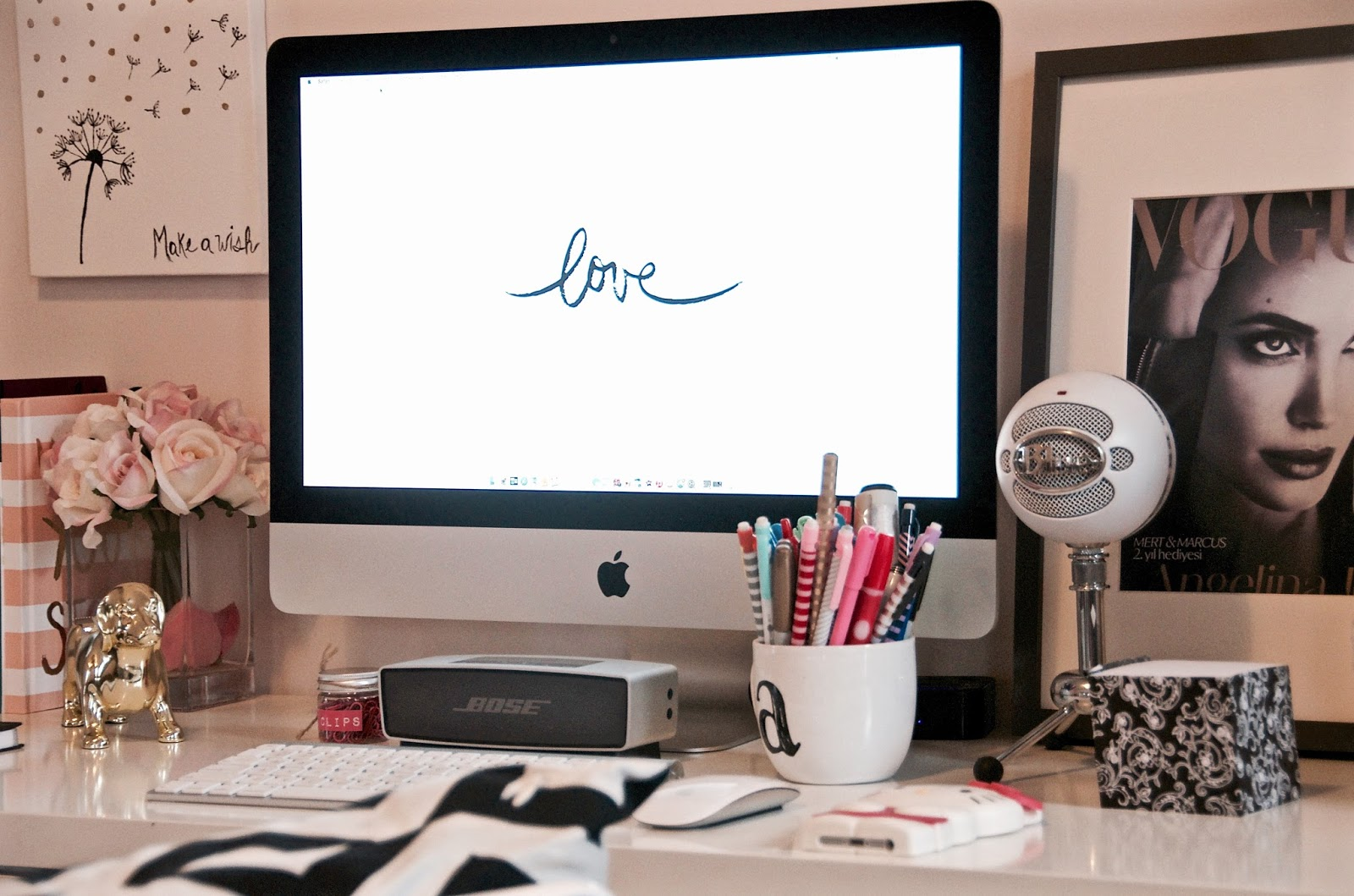 Interior Design | Desk Decor Ideas | DIY Artwork | The ...