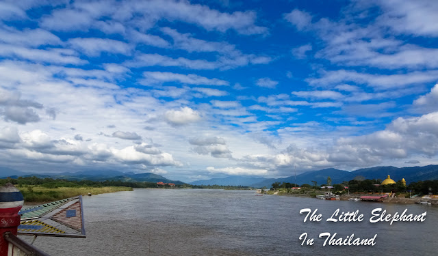 Following the Mekong River in North Thailand