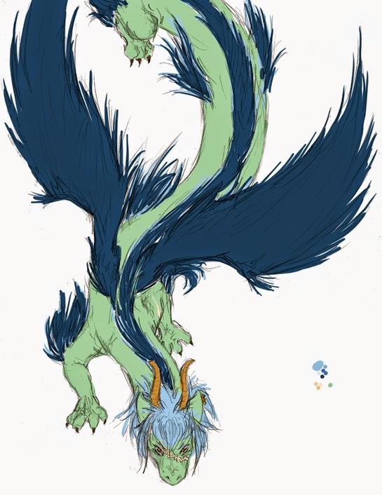 Korean Dragon: Dragon