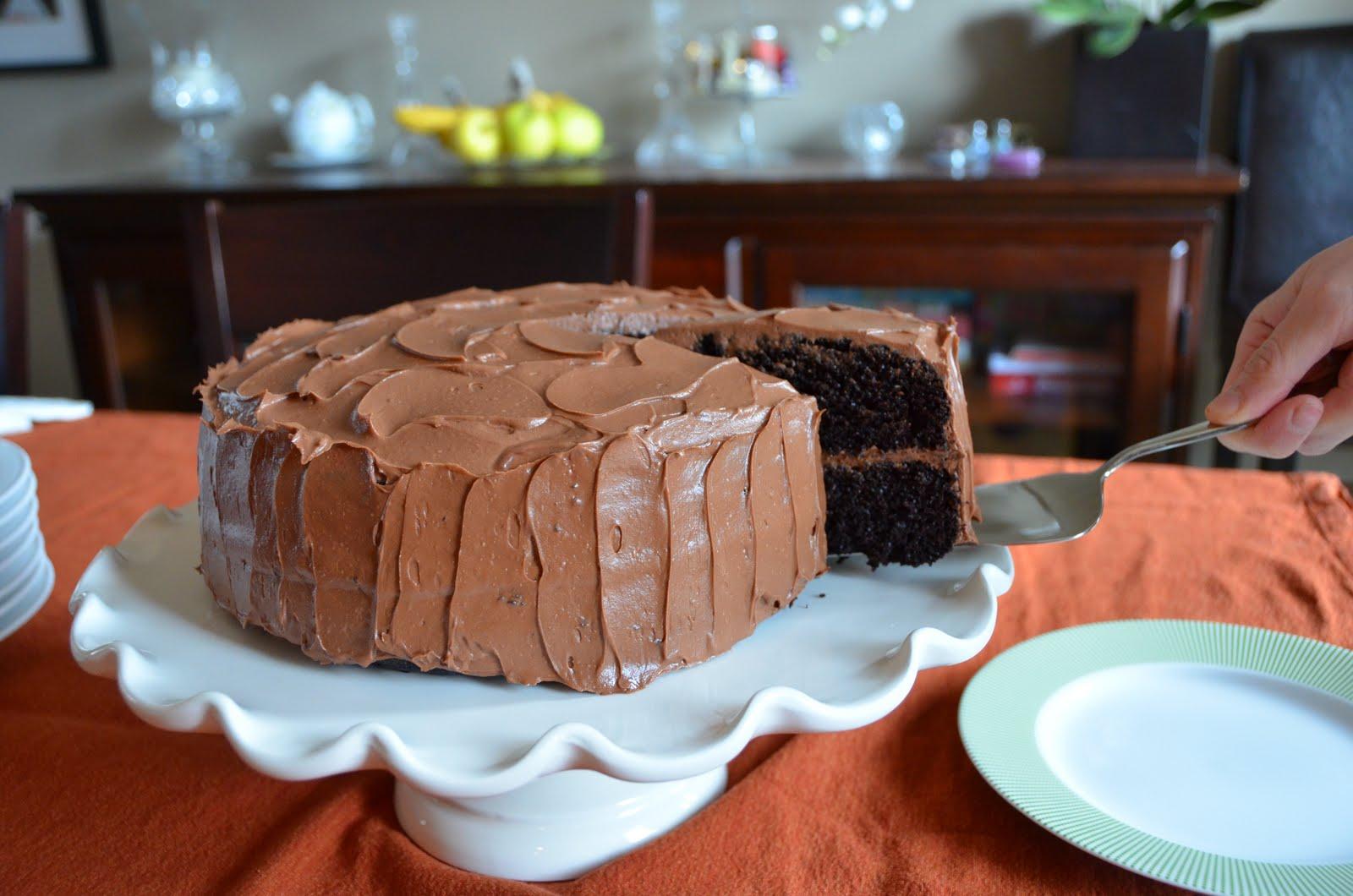 Ultra Chocolate Cake