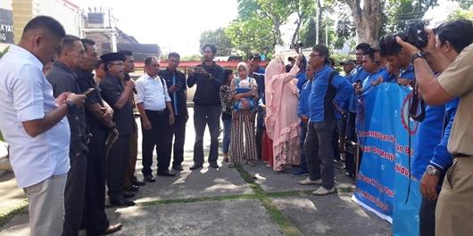 DPRD Padang Terima Aspirasi Pekerja