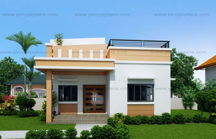 10 BUNGALOW & SINGLE STORY MODERN HOUSE WITH FLOOR PLANS AND ... on house colors with brown roof, house for two story roof design, contemporary deck design, house with low sloped metal roofs, wood patio deck design, house with grass roof, house with swimming pool, house plans with glass walls, patio deck with lattice design, waffle house design, office cube design, house with roof windows, single storey house design, rooftop house design, modern box house design, shed roof tiny house design, front porch wood deck design,