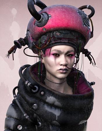 """NIIX"" - OOMOU characters by Andy Lee | imagenes chidas de arte digital, personajes de novela grafica, comic"