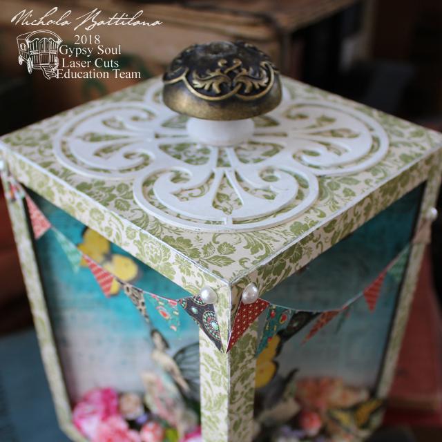 Floral Fairy Dimensional Diorama - gslcuts.com Nichola Battilana