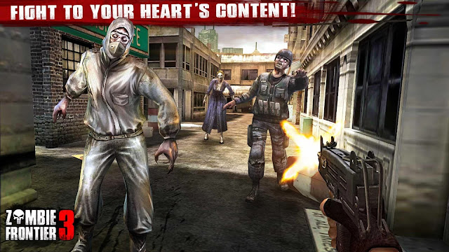 Zombie Frontier 3-Shoot Target APK MOD Unlimited Money