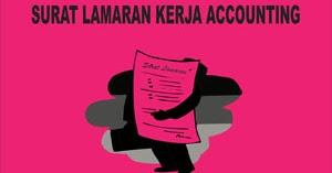 Contoh Surat Lamaran Kerja Accounting Contoh Surat Lamaran Kerja