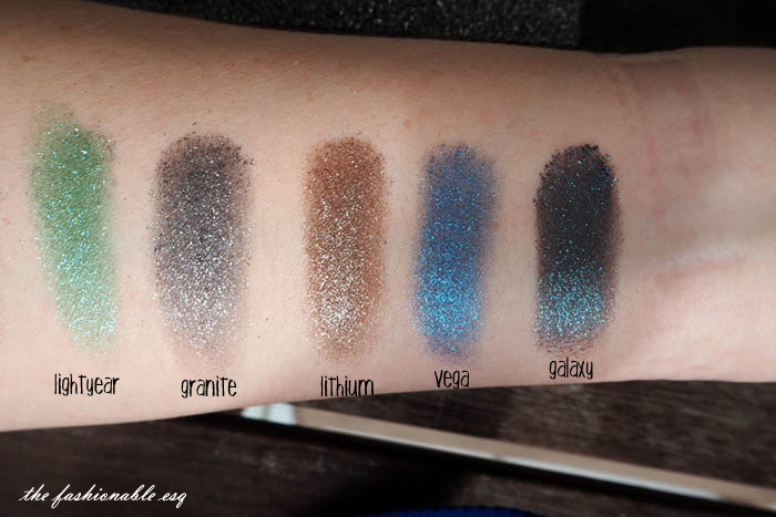 Urban Decay Moonstone palette