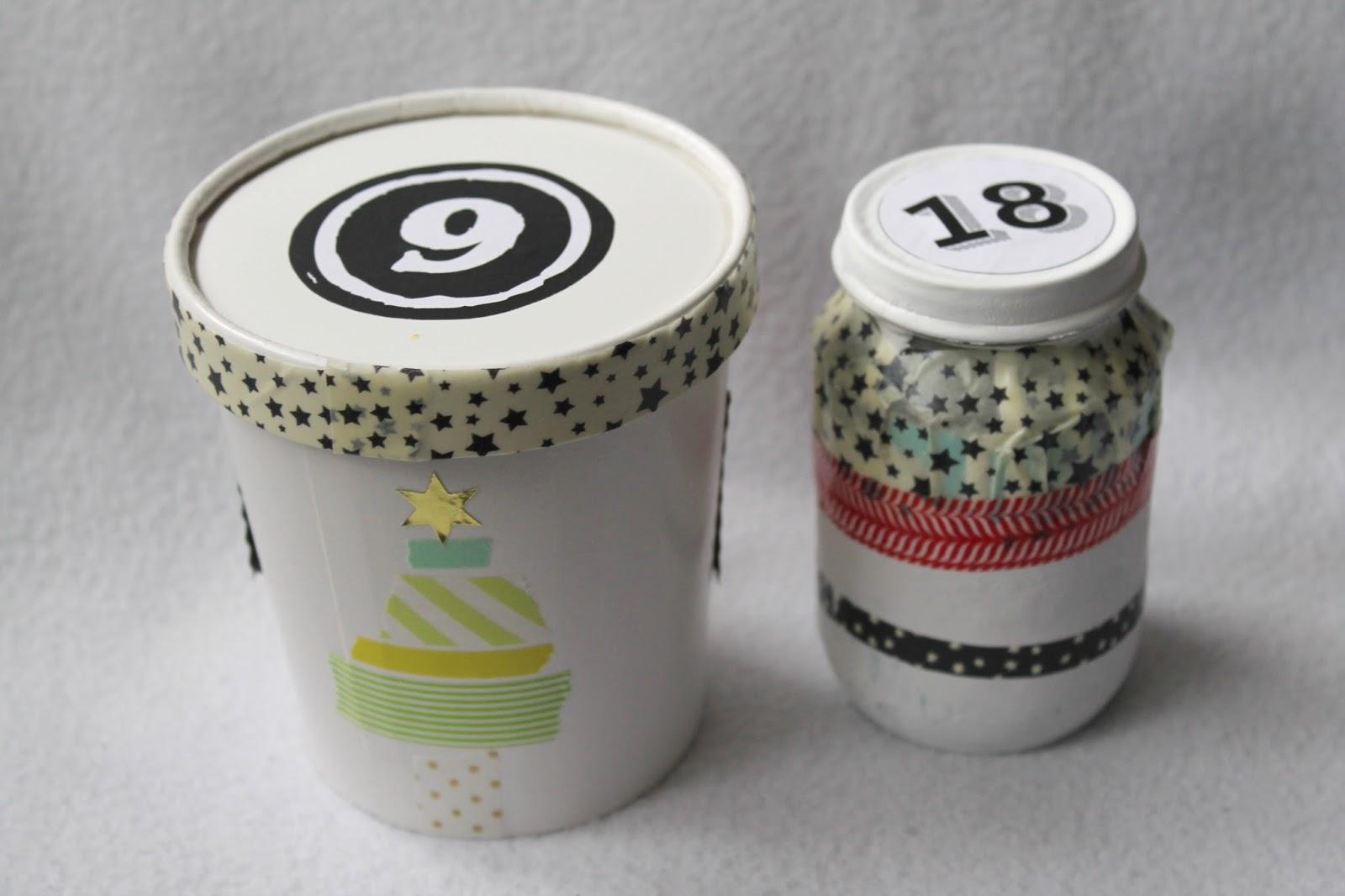 Kleines Freudenhaus: Upcycling-Ideen für Adventskalender #1