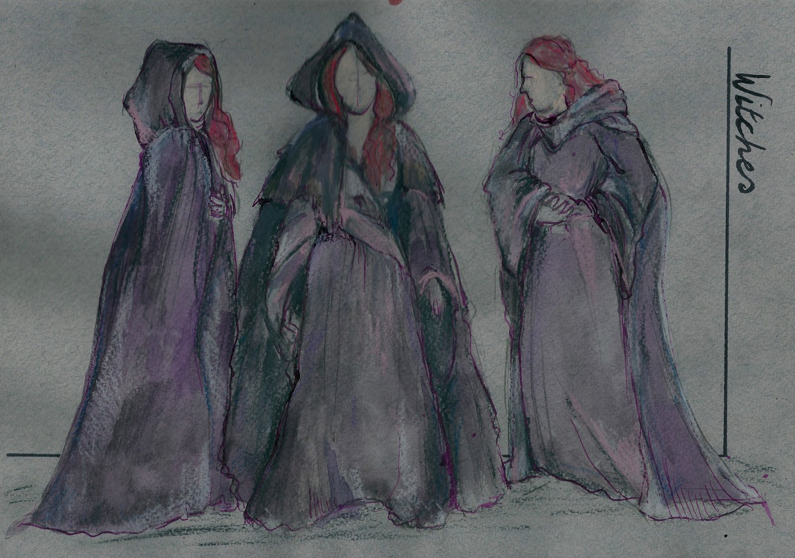clear the stage for the three witches in macbeth With the exception of a few modernisms and a clear reference to russia, this macbeth is  macbeth and banquo are met by three witches,  the stage he has.