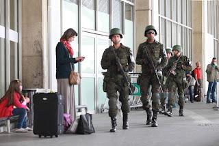 Aeroporto do Rio recebe treinamento integrado das Forças de Segurança