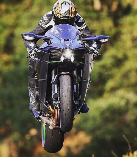 Kawasaki Ninja H2 Supercharge