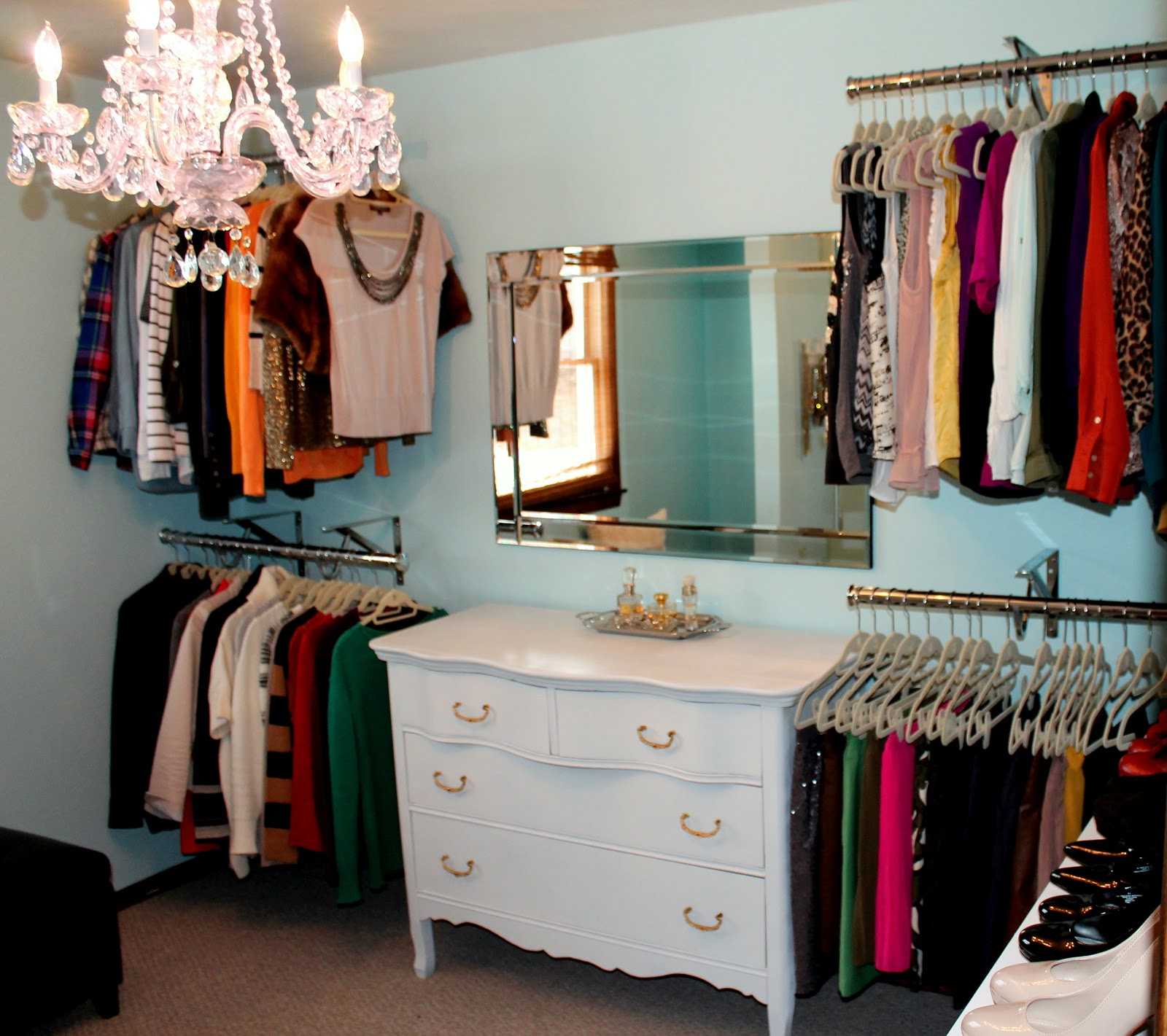 Closet reveal part 1 penny pincher fashion - Closet for small room ...