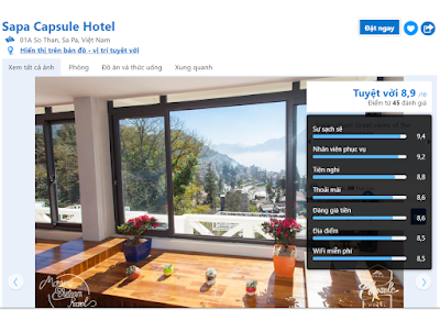 sapa capsule review on booking