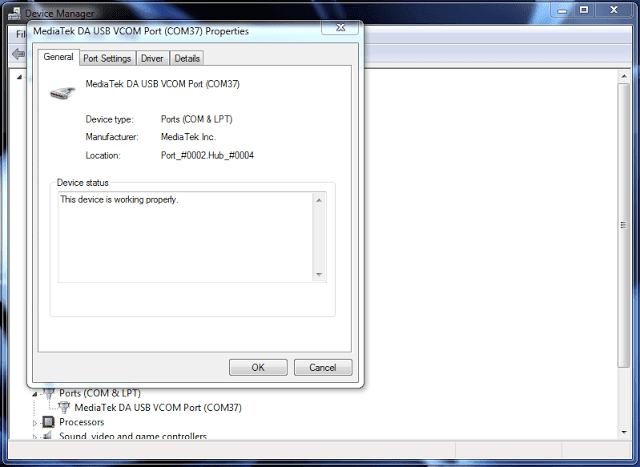 Install Hitech Air A6 device USB Driver
