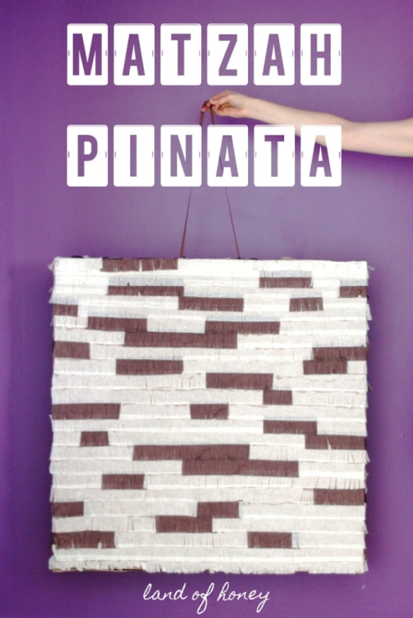 How to make a Matzah pinata for the Feast of Unleavened Bread | Land of Honey