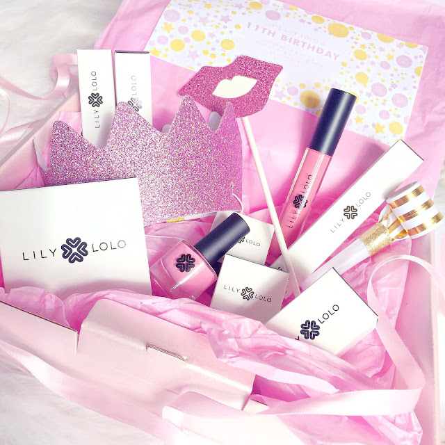 Lily Lolo Mineral Makeup | Pink 11th Birthday Gifts
