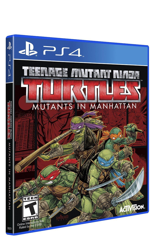 New Games Teenage Mutant Ninja Turtles Mutants In