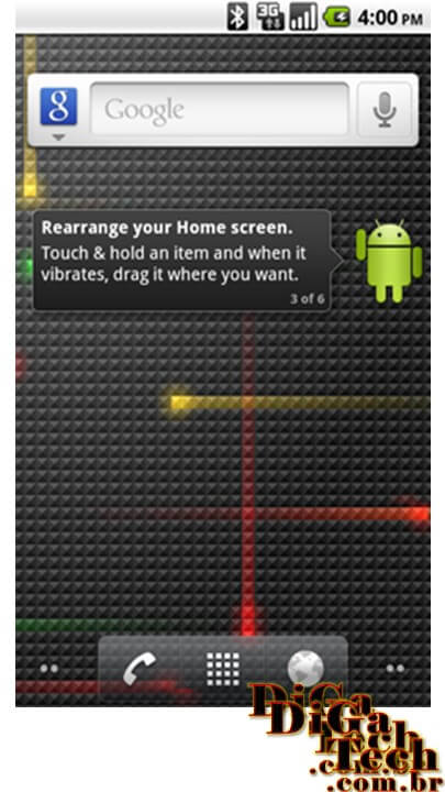 Screen shot Android Froyo