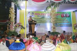 La Bakry Hadiri Pesta Adat Mataano Santa dengan Masyarakat Kombeli
