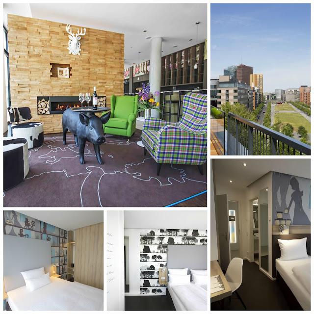 Berlim: Hotéis com vista legal! Grimm´s Hotel am Potsdamer Platz