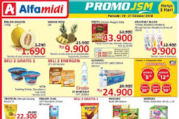 Katalog Promo JSM Alfamidi Terbaru 19 - 21 Oktober 2018