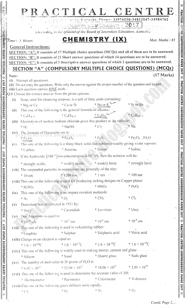 chemistry-ix-practical-centre-preparation-paper-2017-science-group