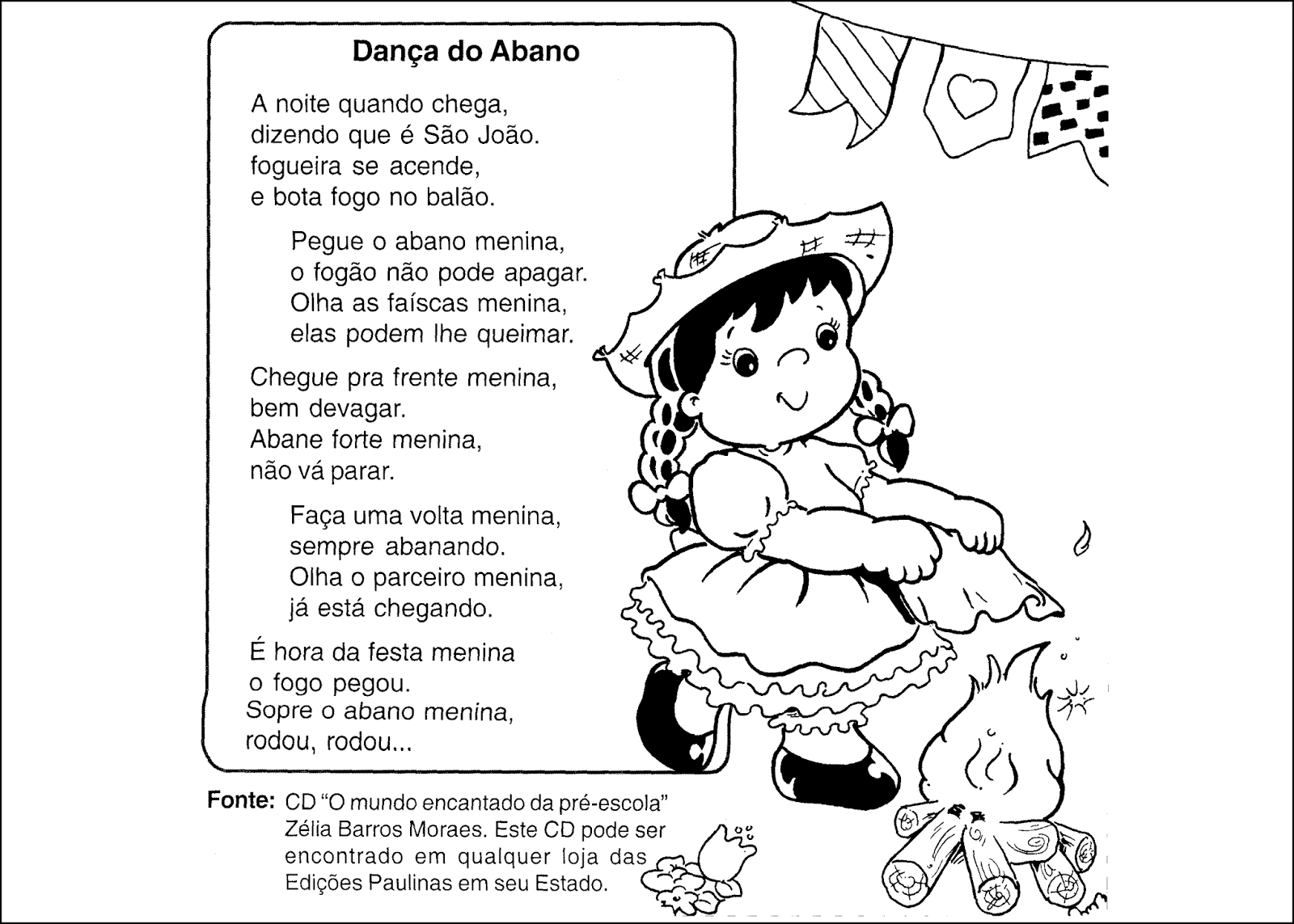 10 Atividades De Alfabetizacao Sobre Festa Junina Para Imprimir