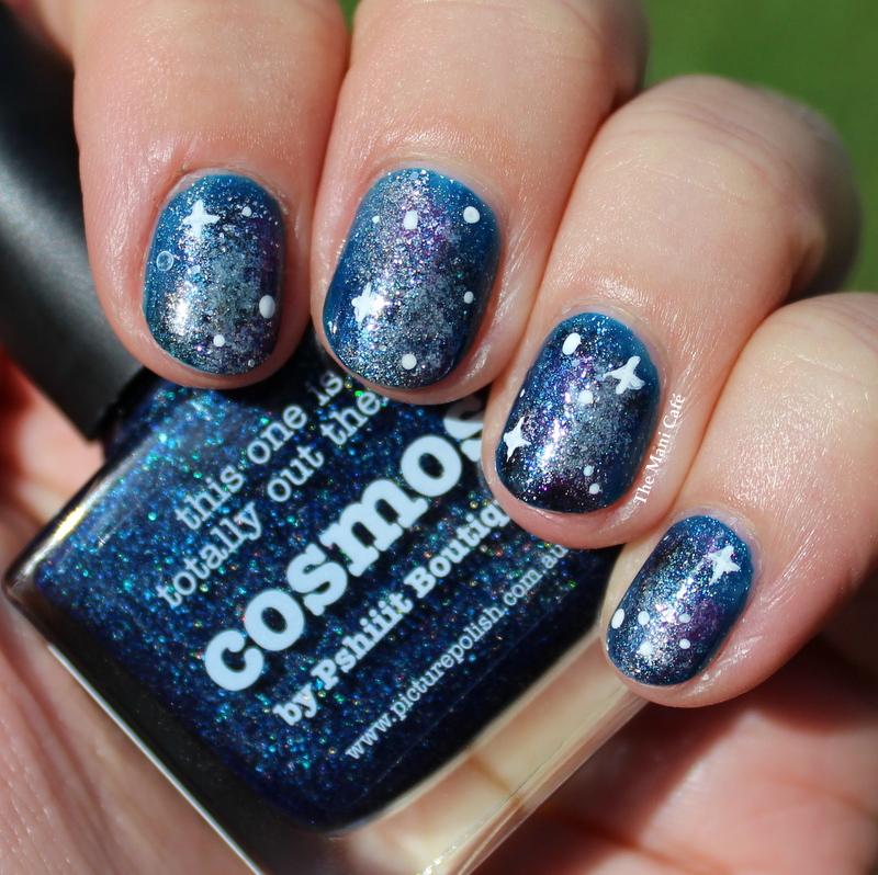 The Mani Caf Galaxy Nails