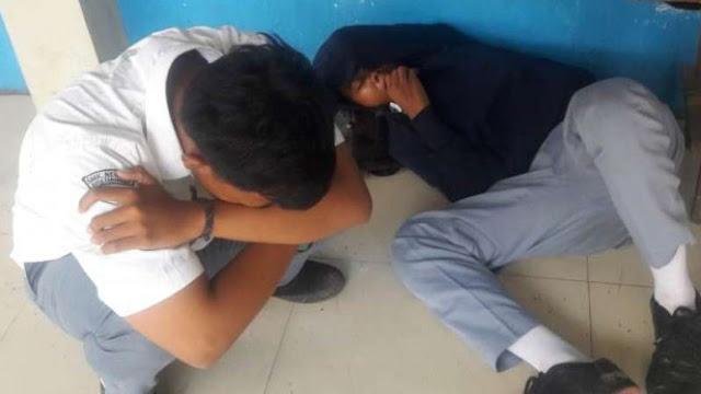 Usai Ujian Dua Pelajar Tak Sadarkan Diri Habis Dicekoki Narkoba Gorila